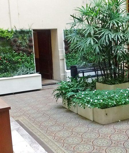 Cámara de Diputados Jardines Verticales