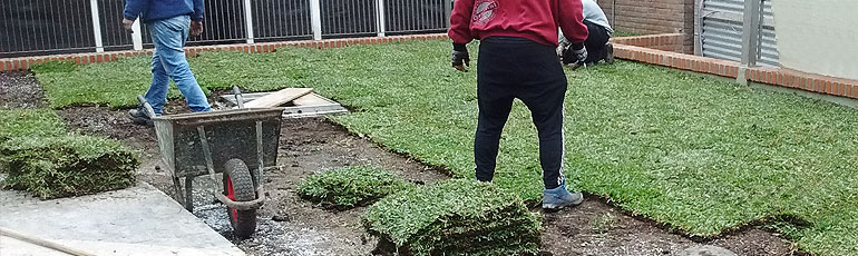 Terraza Verde Sanatorio Juncal