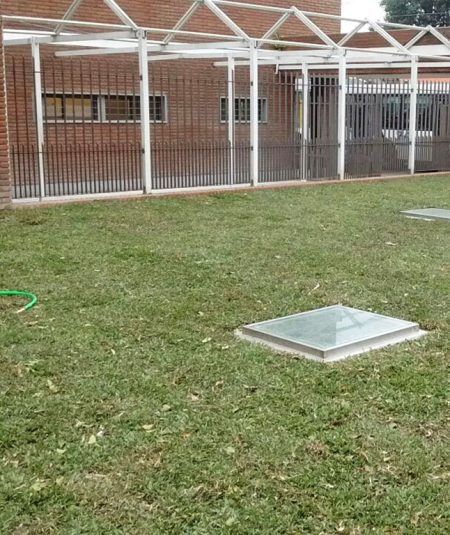 Sanatorio Juncal techo verde