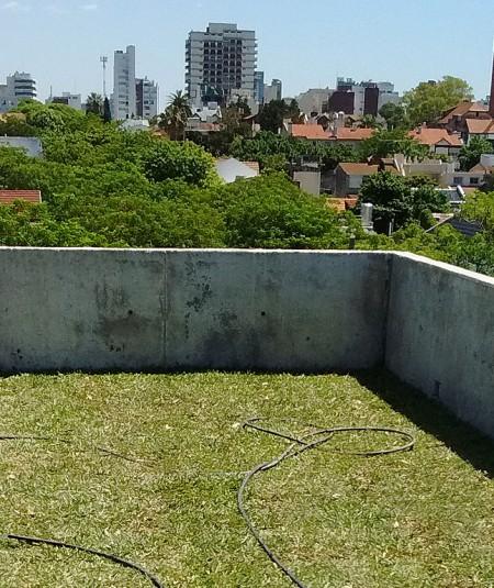 Edificio Correa terraza verde