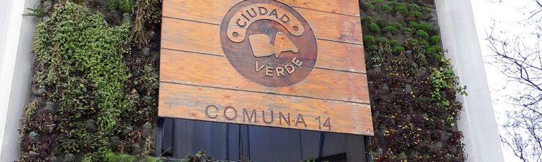 Comuna 14 Jardín Vertical