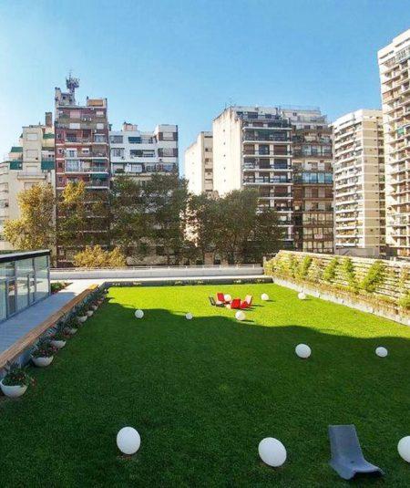 Terraza Verde edificio vista buenos aires