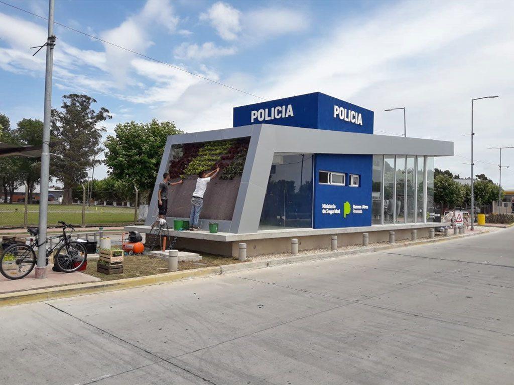 Jardín Vertical Policía Quilmes
