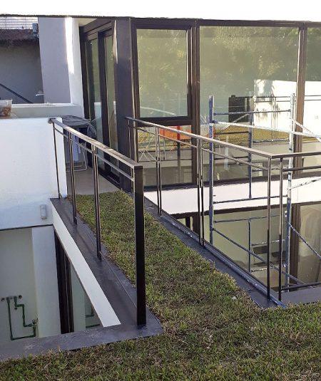 casa castillo terraza verde