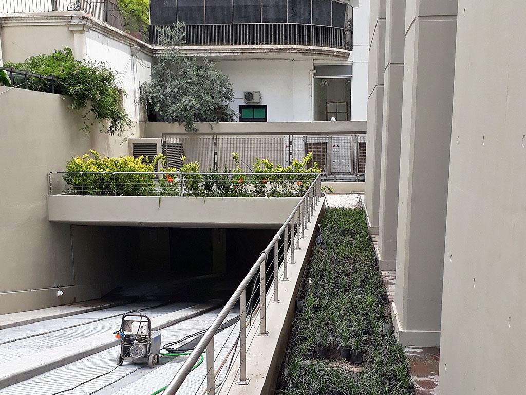 Weik Belgrano Terraza Verde Y Parquización En Edificio New