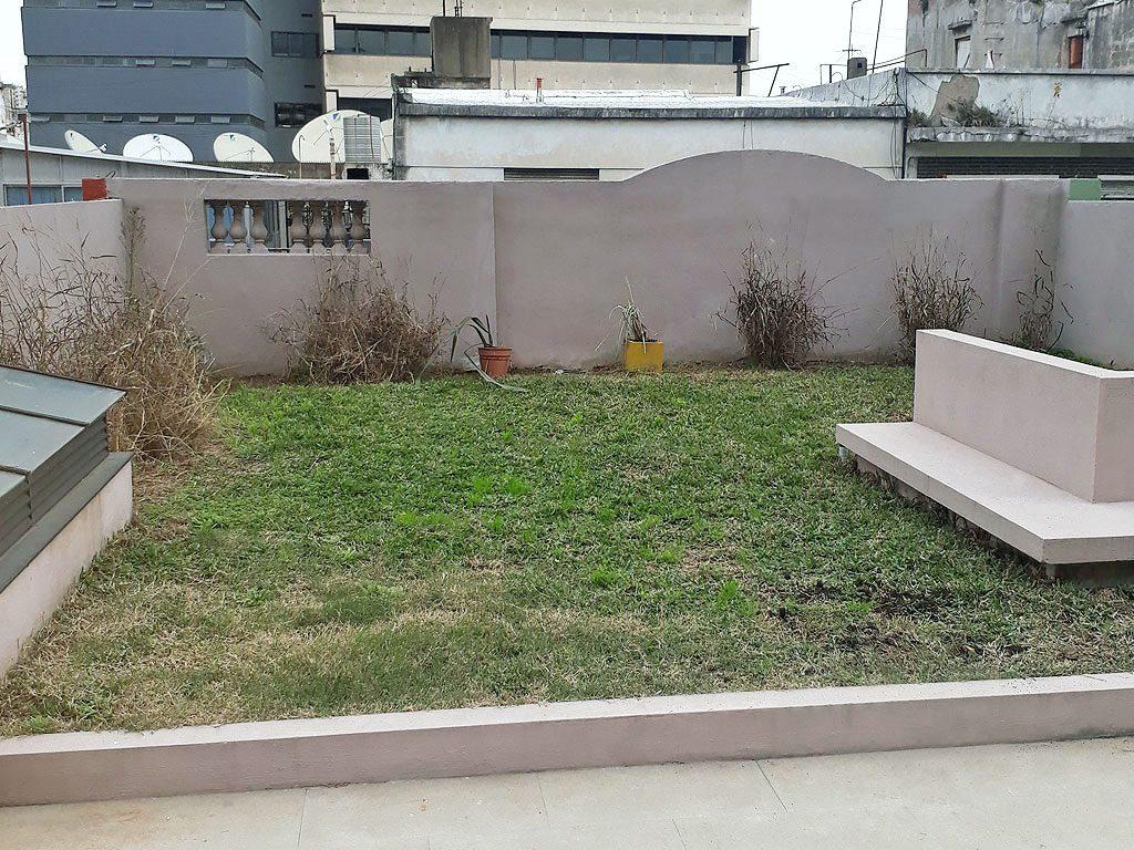 barracas terraza verde