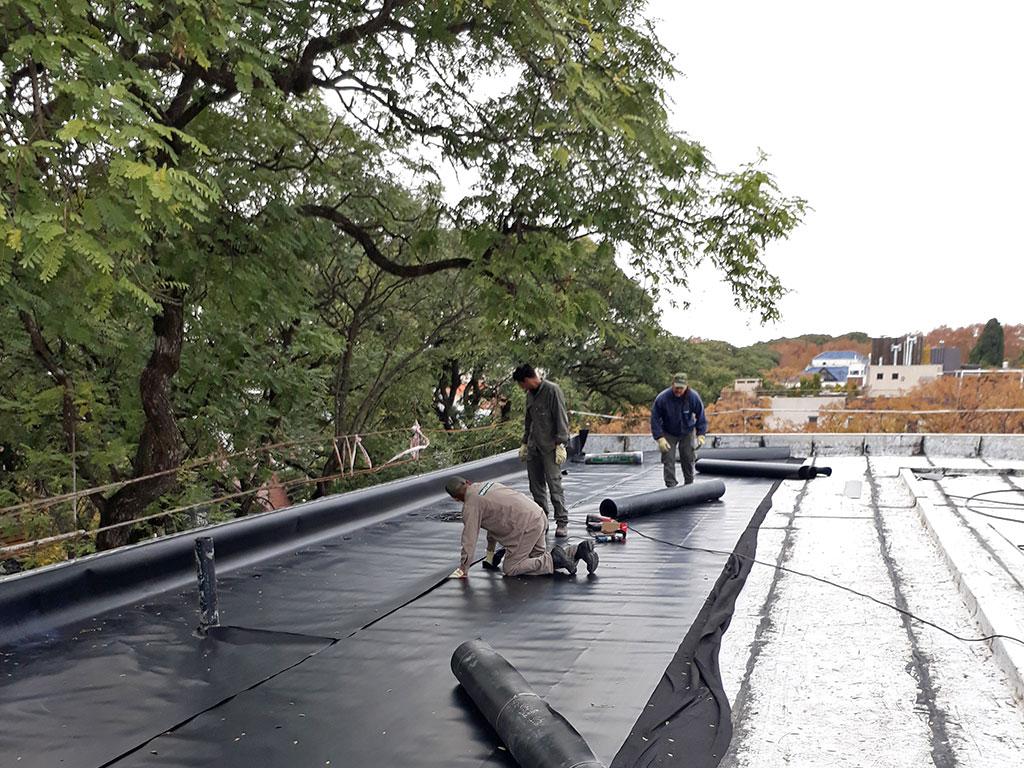 Martinez oficinas terraza verde